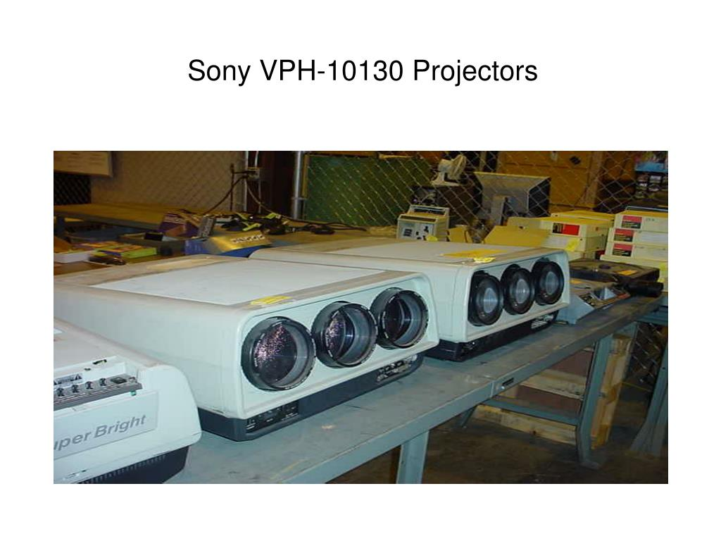 Sony VPH-10130 Projectors