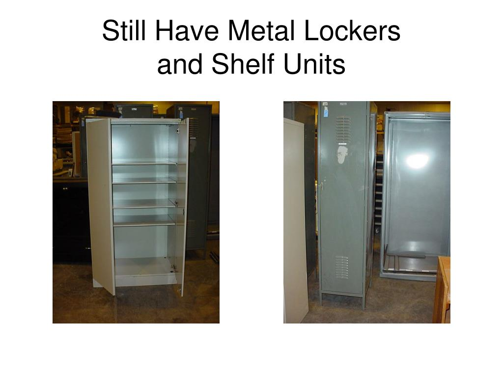 Still Have Metal Lockers