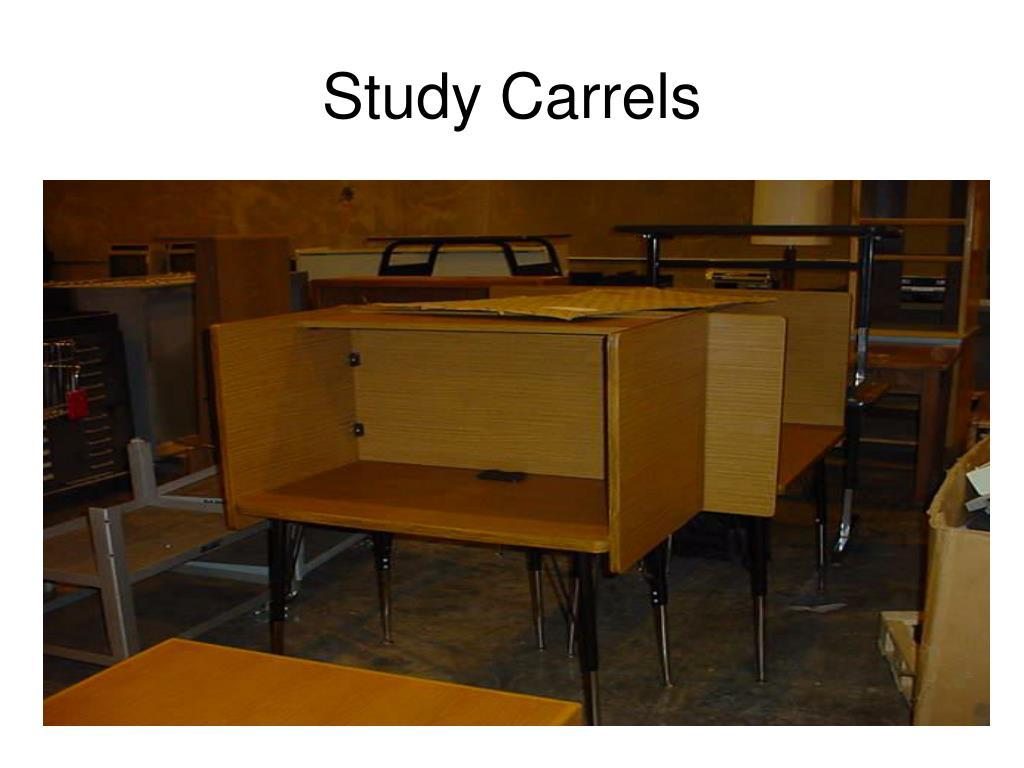 Study Carrels