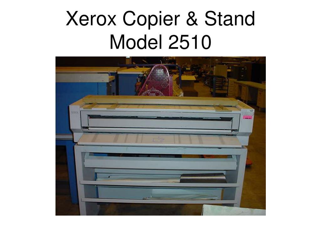 Xerox Copier & Stand