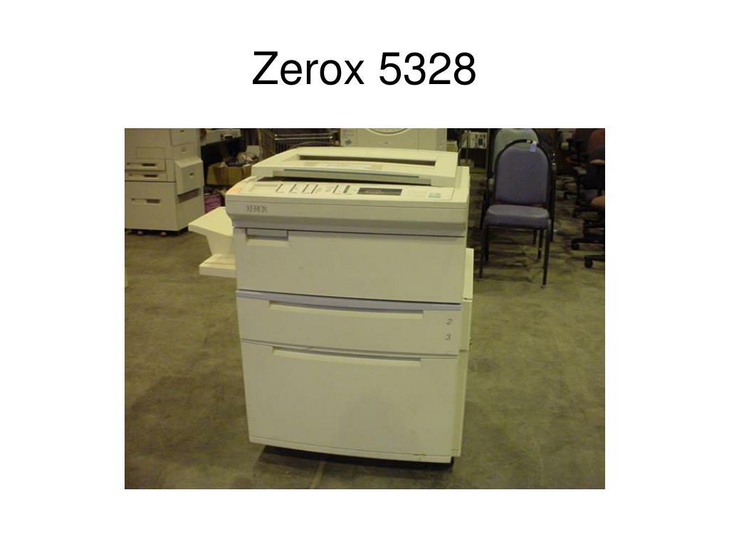 Zerox 5328