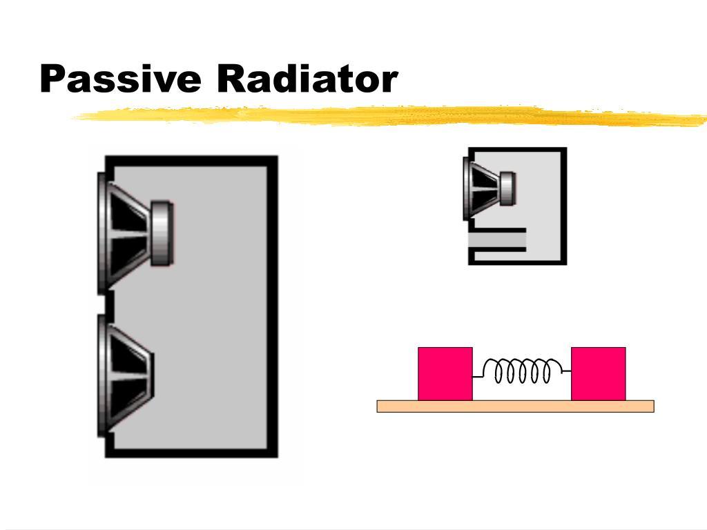 Passive Radiator