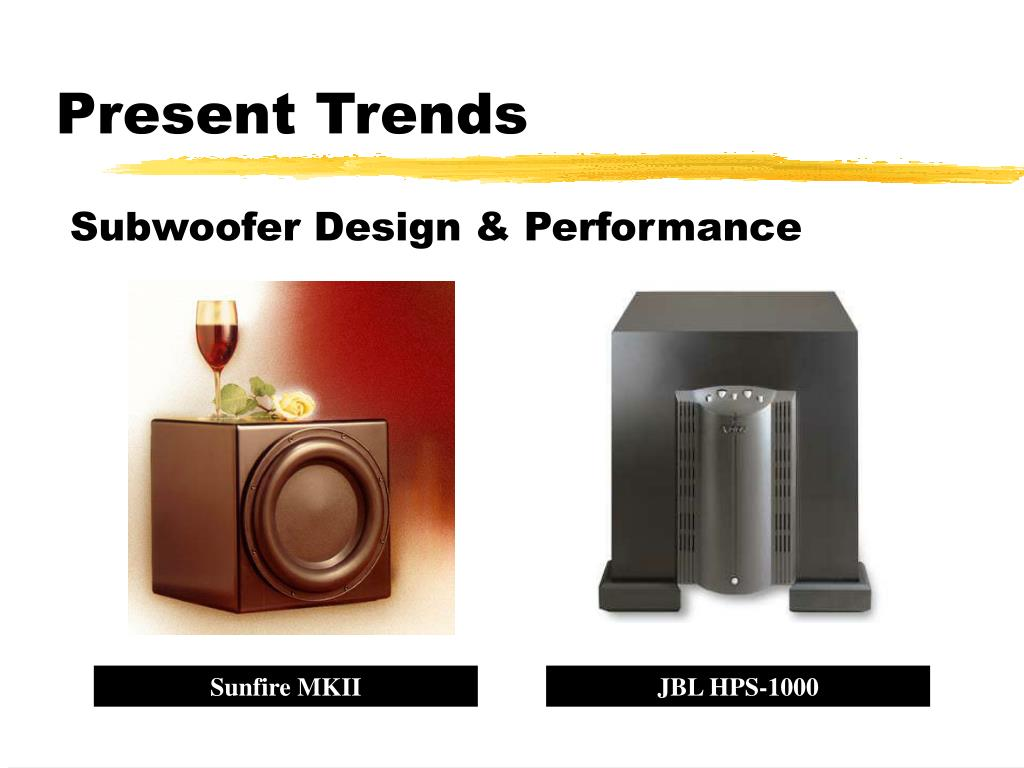 Present Trends
