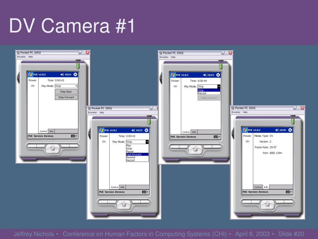 DV Camera #1