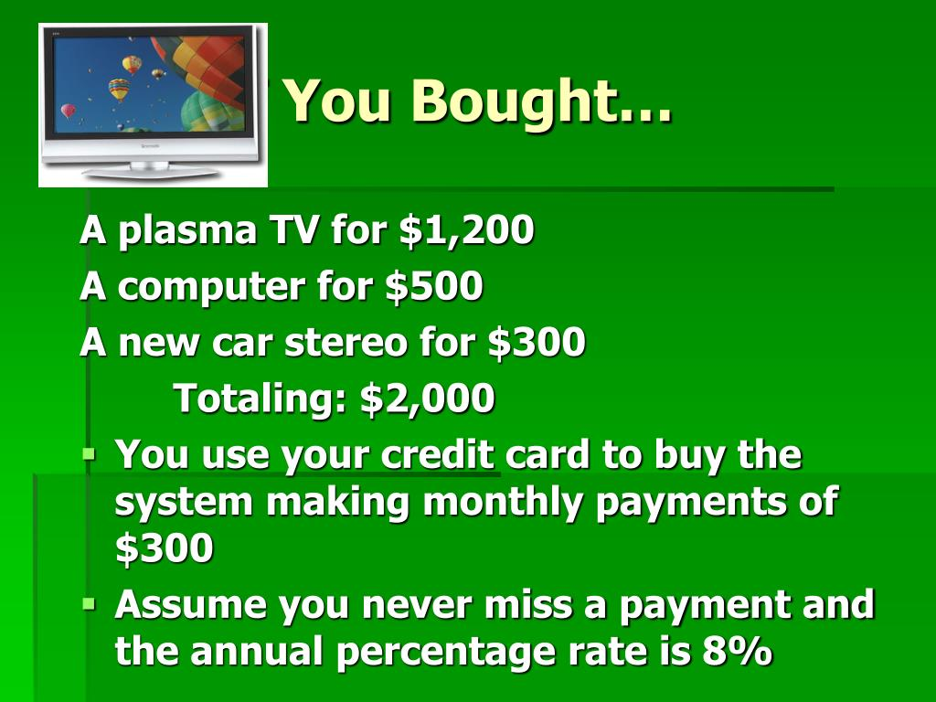 What if You Bought…