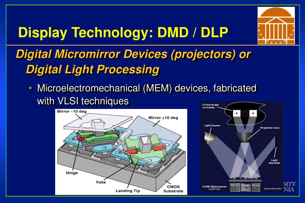 Display Technology: DMD / DLP