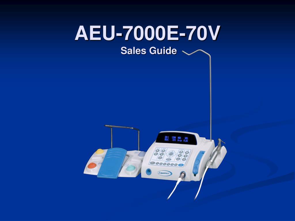 aeu 7000e 70v sales guide