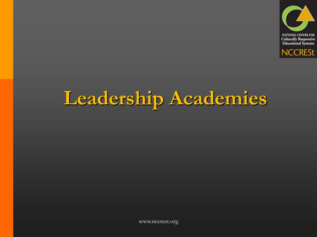 Leadership Academies