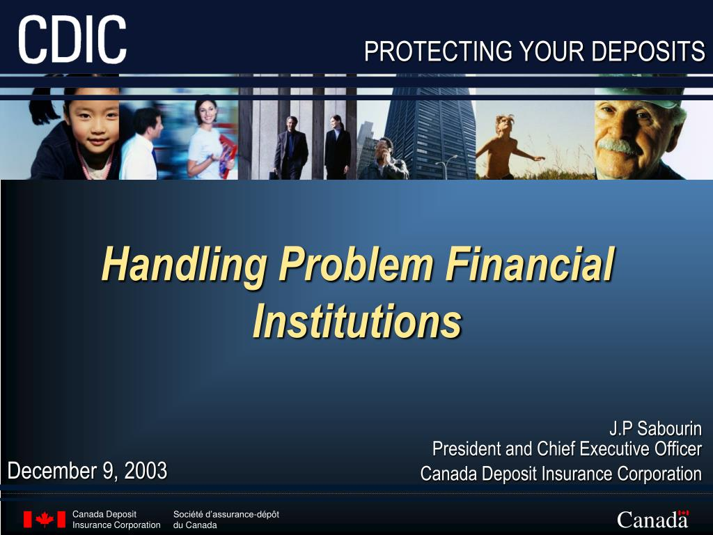 Handling Problem Financial Institutions