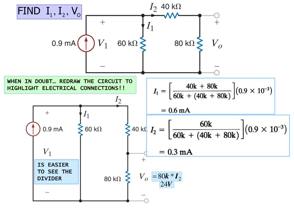 WHEN IN DOUBT… REDRAW THE CIRCUIT TO