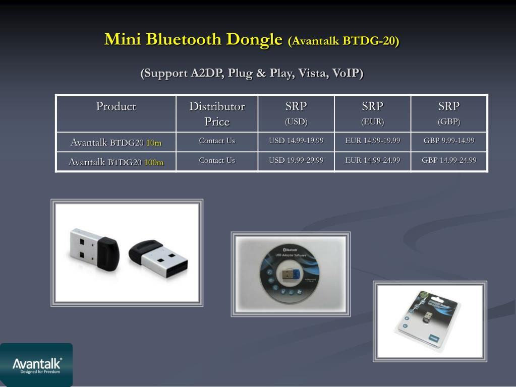 Mini Bluetooth Dongle