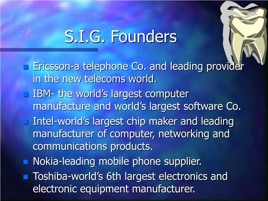 S.I.G. Founders