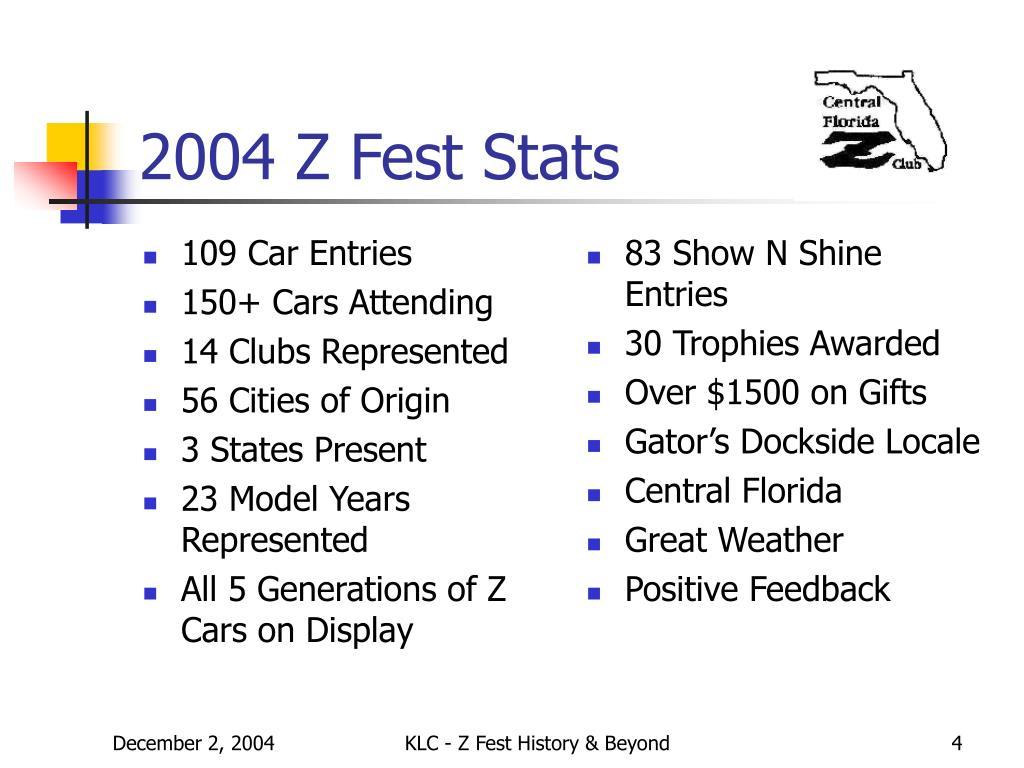 109 Car Entries