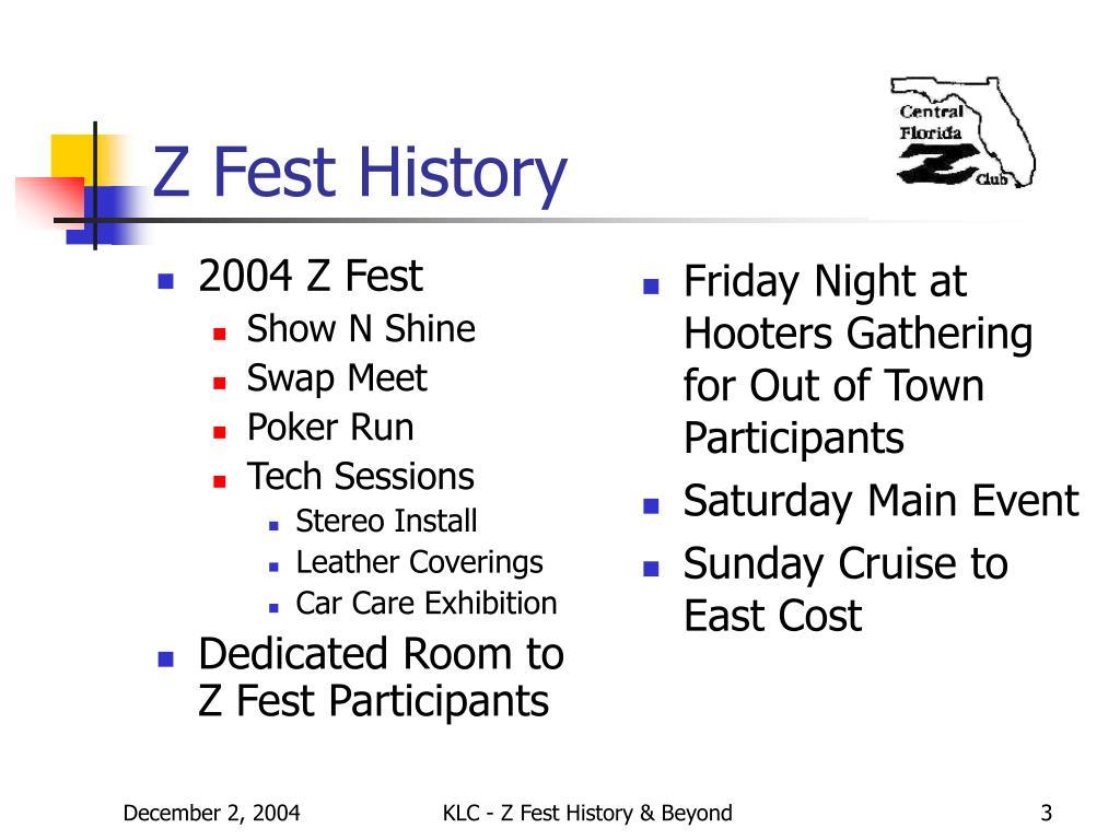 2004 Z Fest