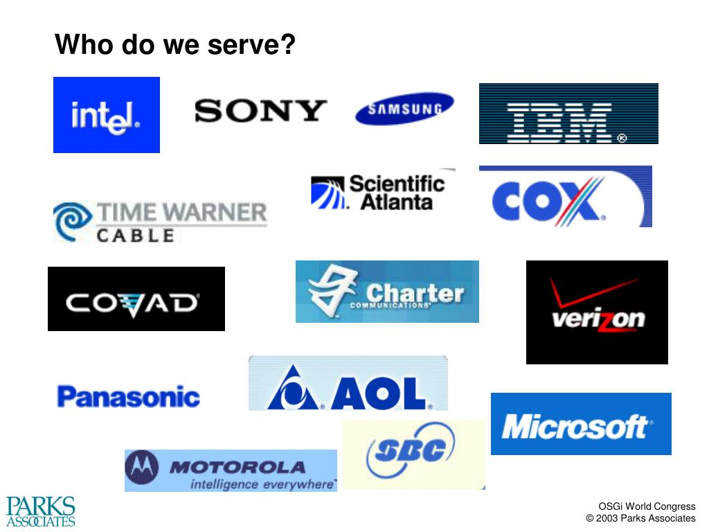 Who do we serve?