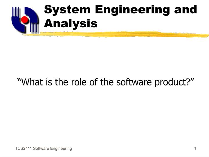 System engineering and analysis l.jpg