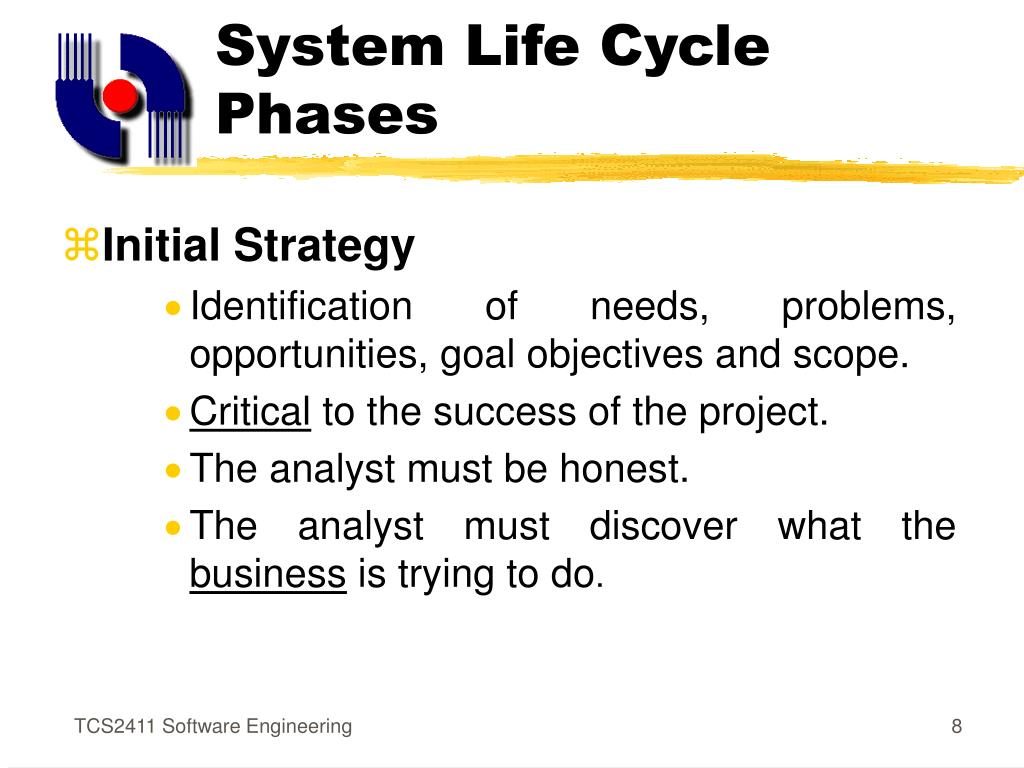 System Life Cycle Phases