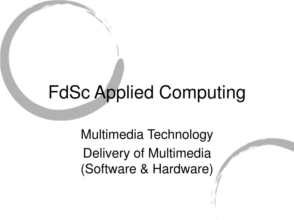 FdSc Applied Computing