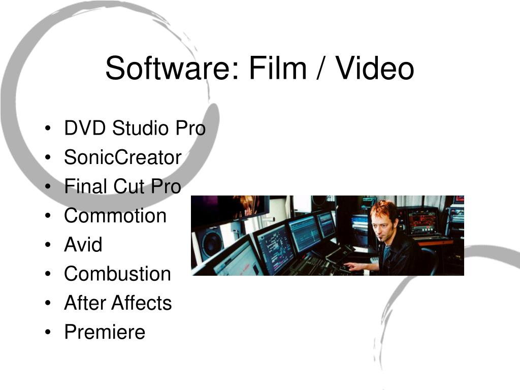 Software: Film / Video