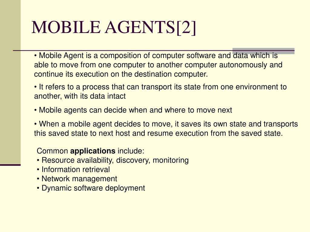 MOBILE AGENTS[2]