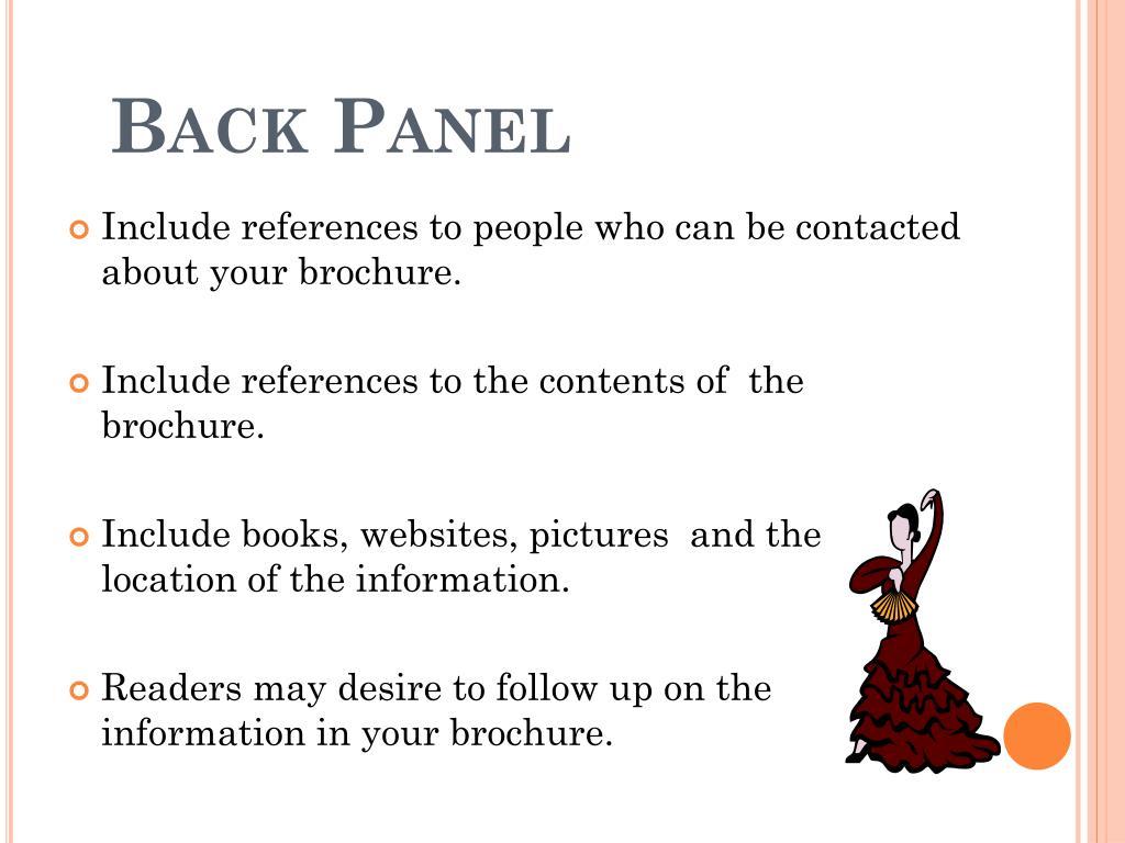 Back Panel