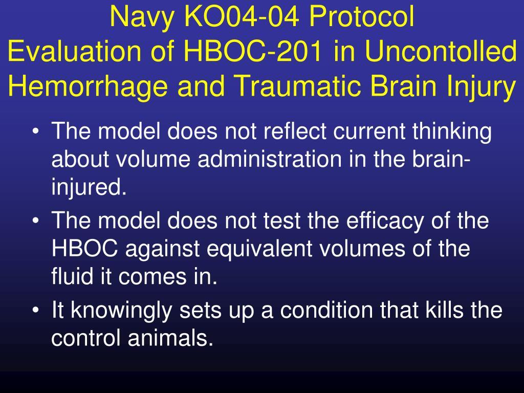 Navy KO04-04 Protocol