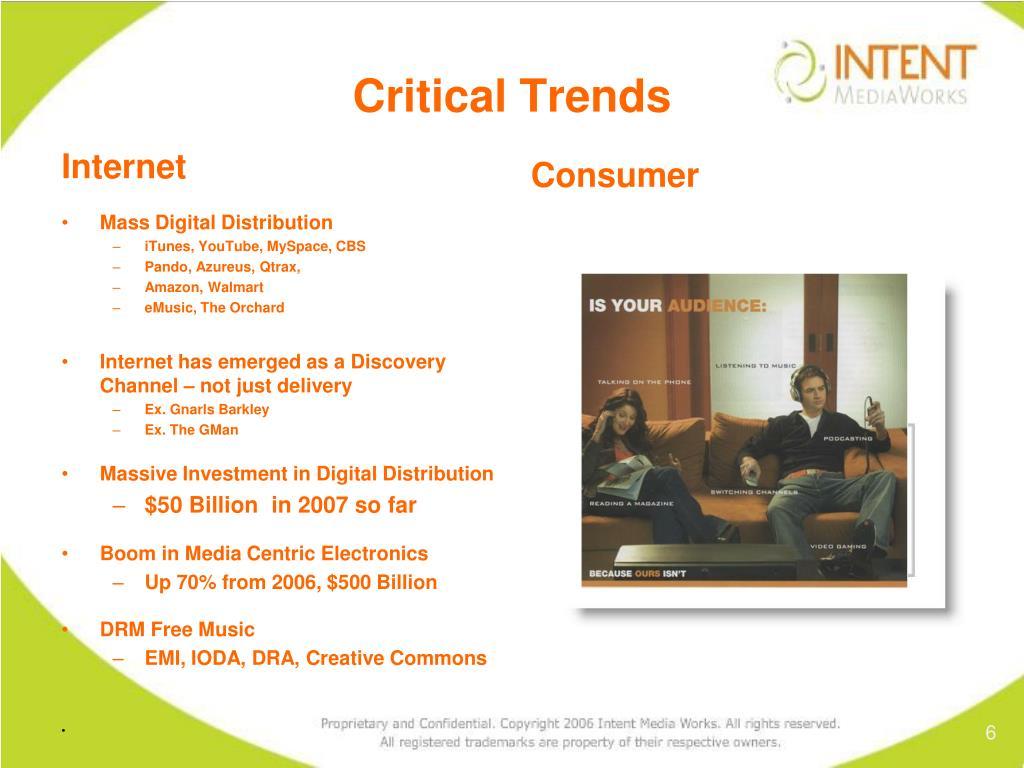 Critical Trends