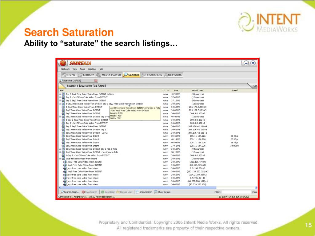 Search Saturation