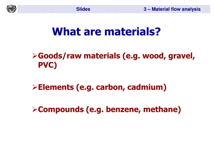 What are materials l.jpg