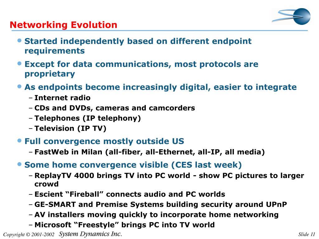 Networking Evolution
