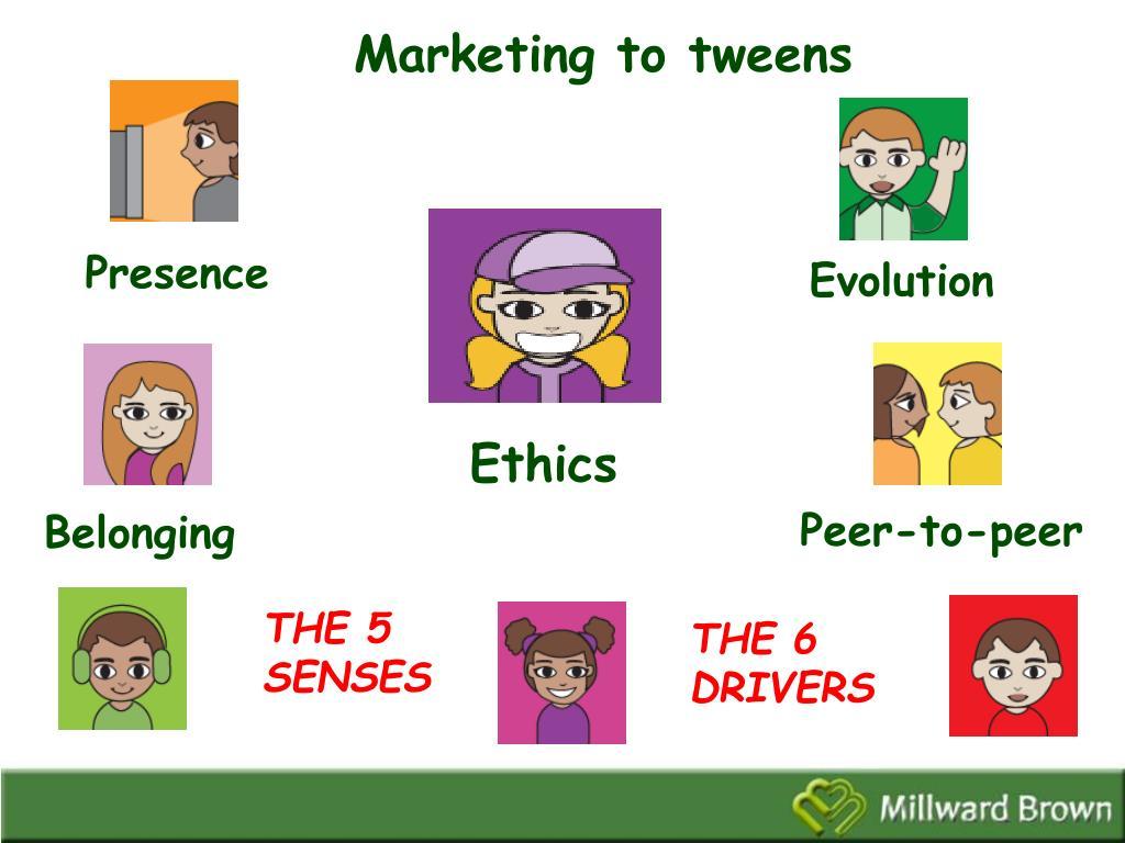 Marketing to tweens