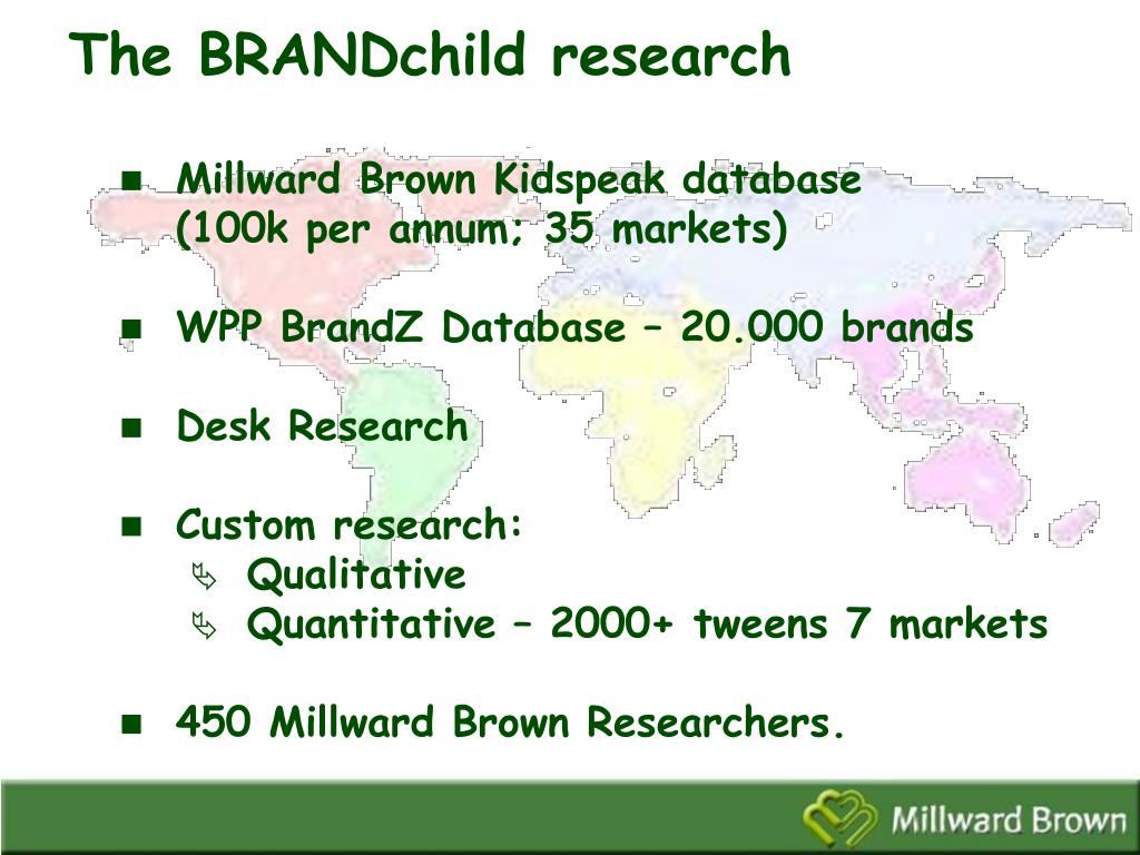 The BRANDchild research