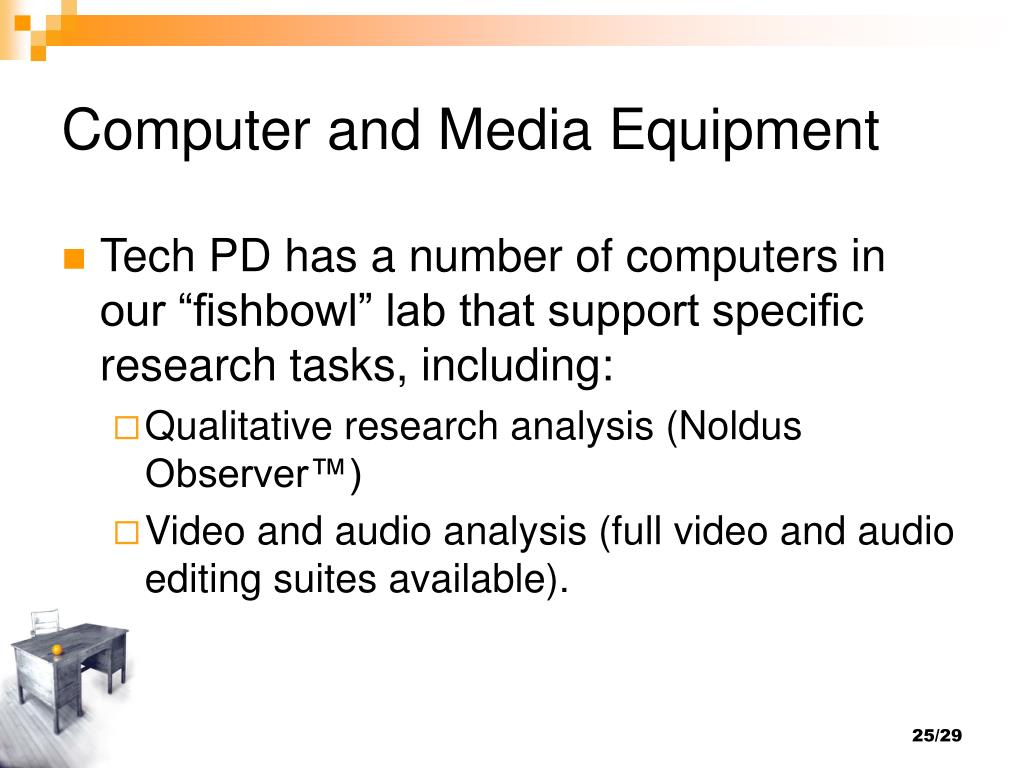 Computer and Media Equipment