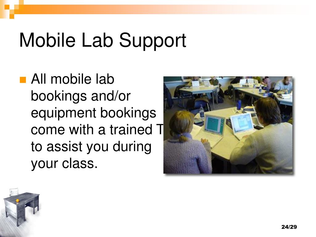 Mobile Lab Support