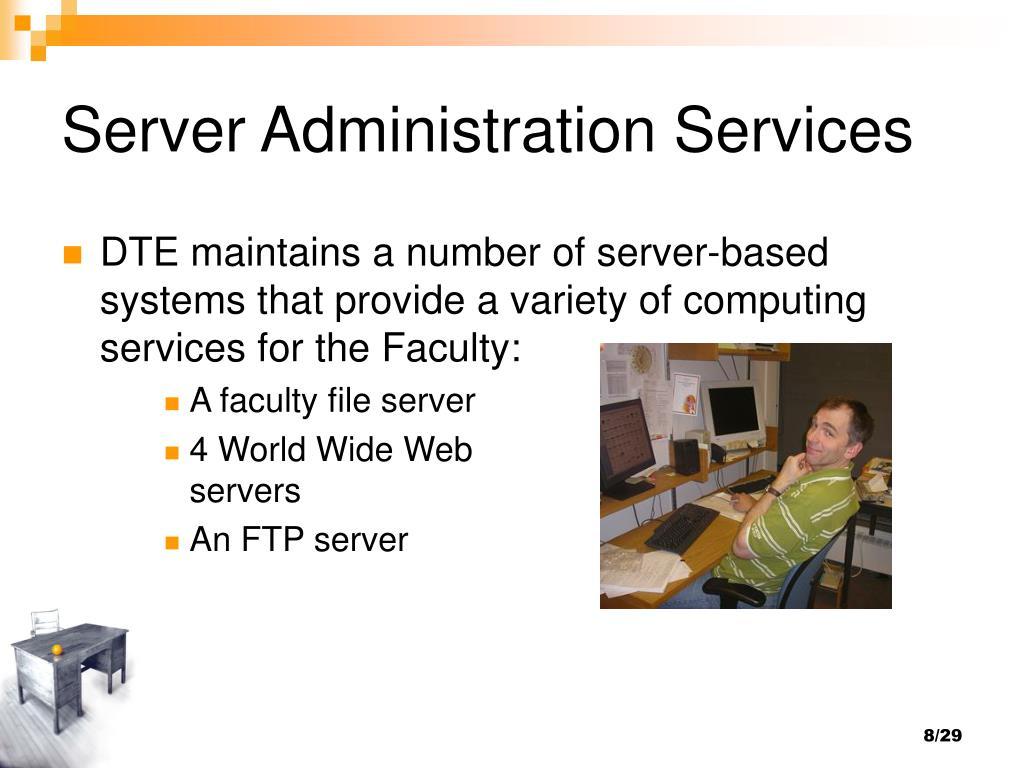 Server Administration Services