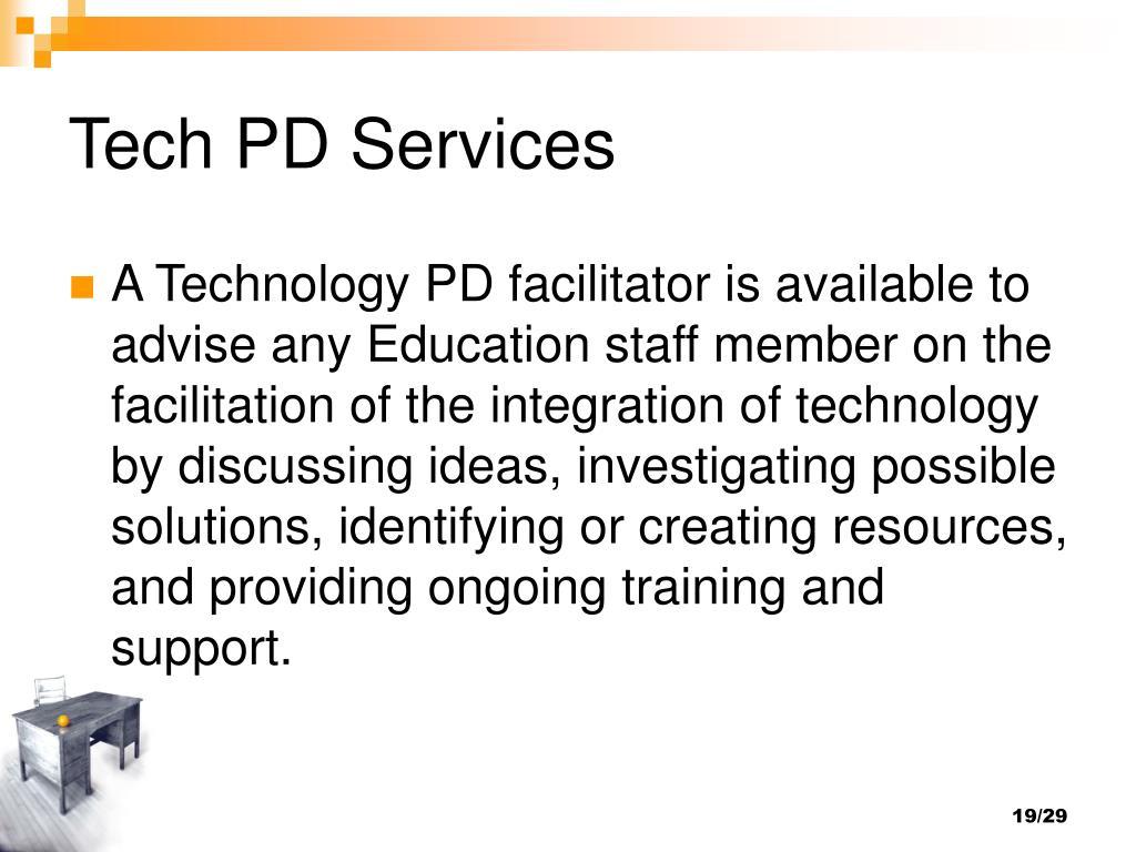 Tech PD Services