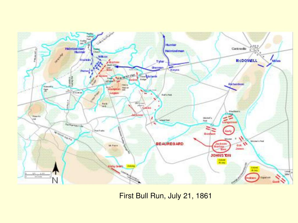 First Bull Run, July 21, 1861