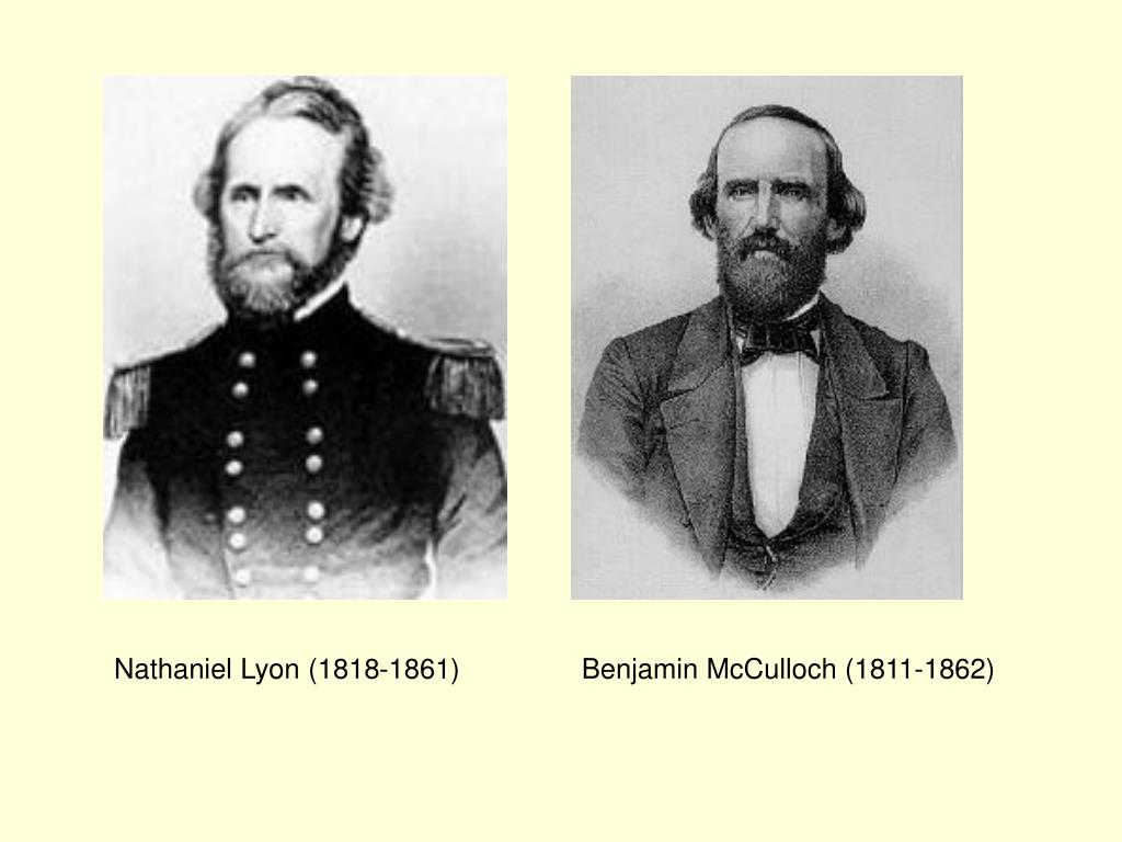 Nathaniel Lyon (1818-1861)