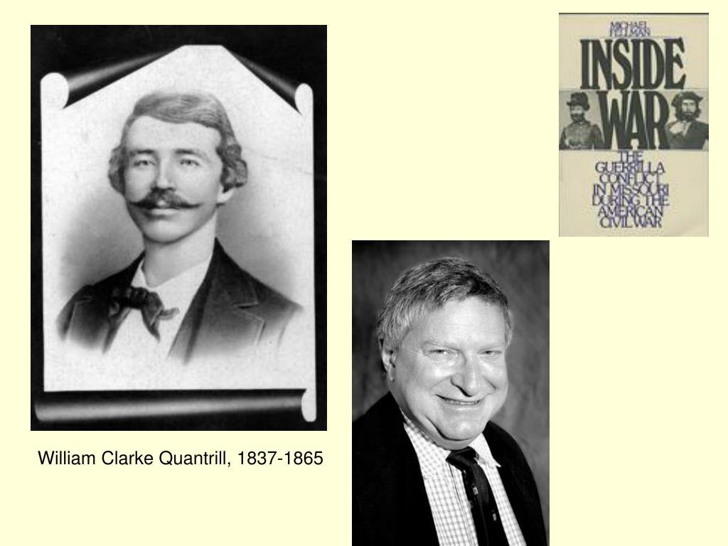 William Clarke Quantrill, 1837-1865