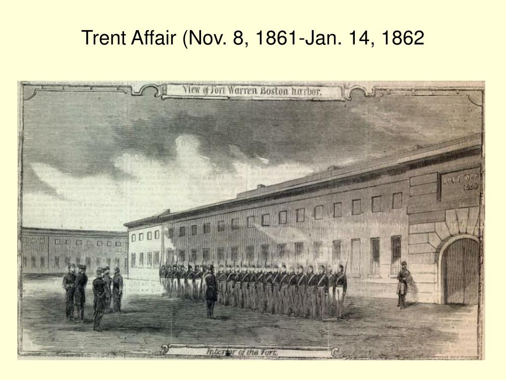 Trent Affair (Nov. 8, 1861-Jan. 14, 1862