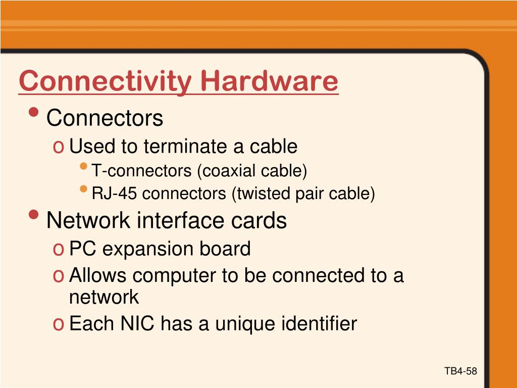 Connectivity Hardware