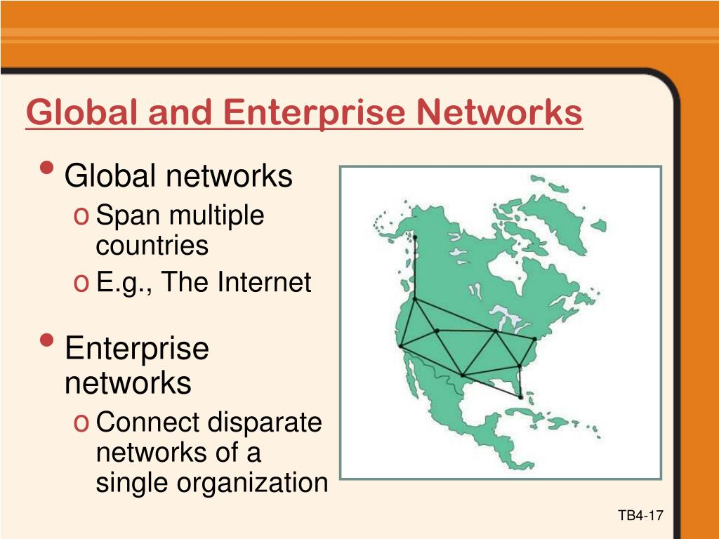Global and Enterprise Networks