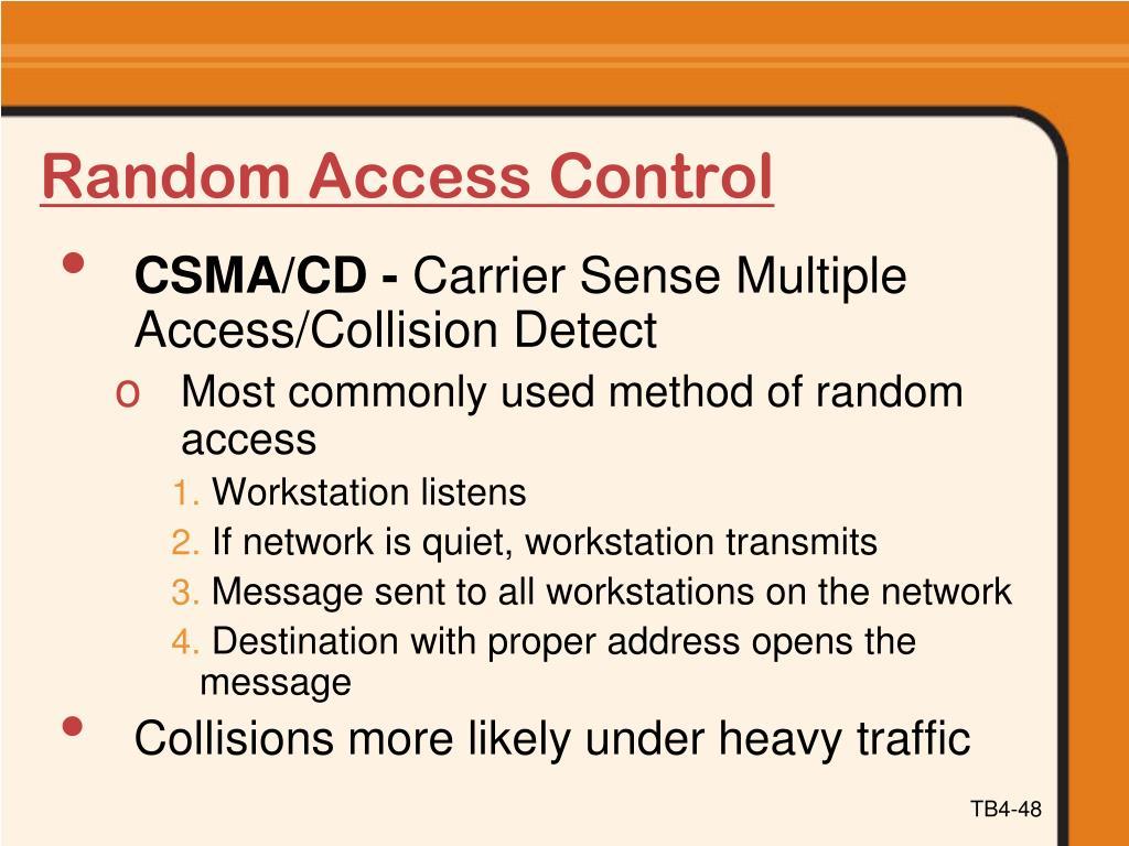 Random Access Control