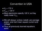 convention in usa