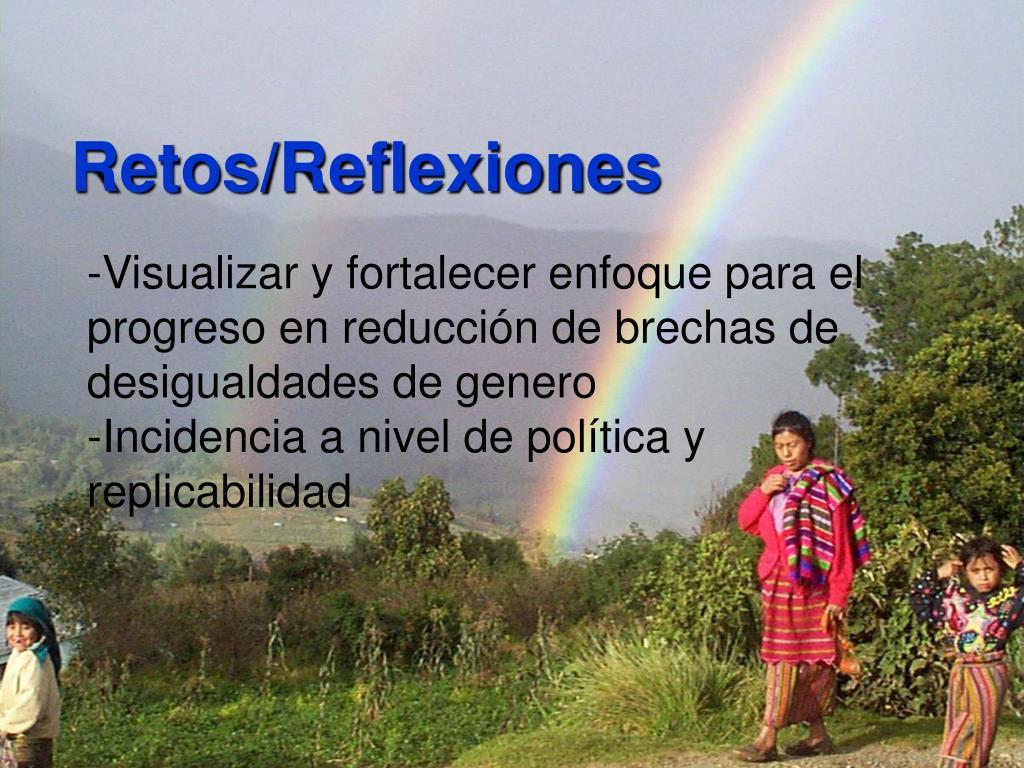 Retos/Reflexiones