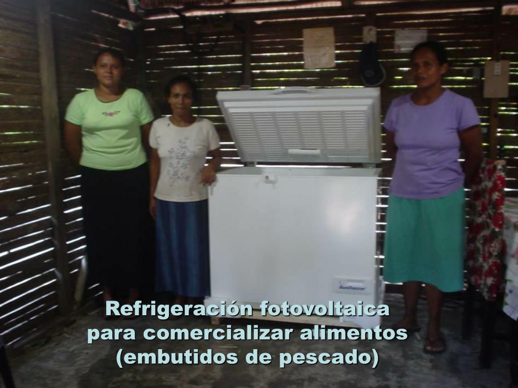 Refrigeración fotovoltaica