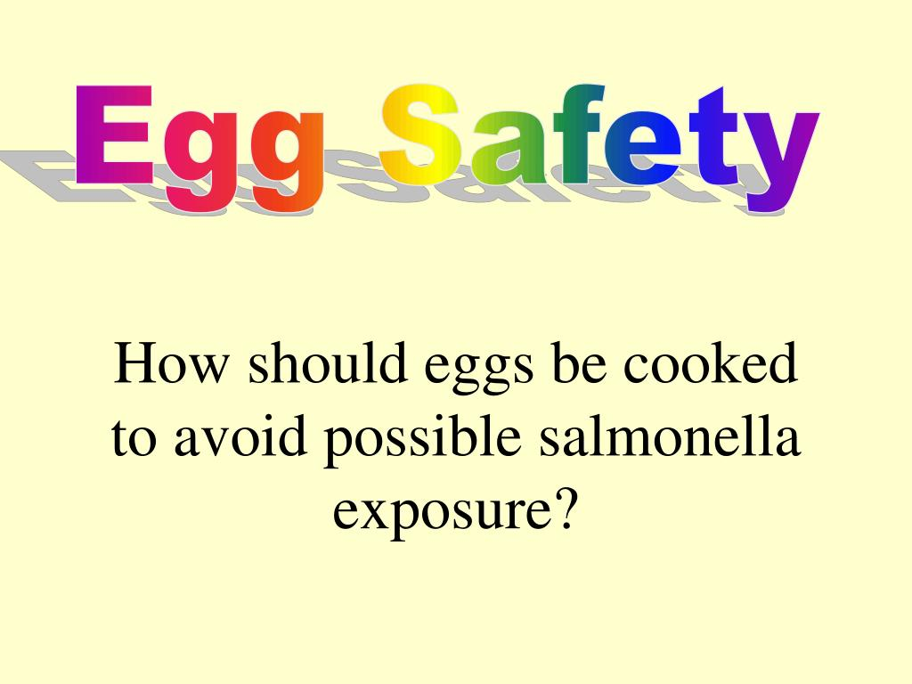 Egg Safety