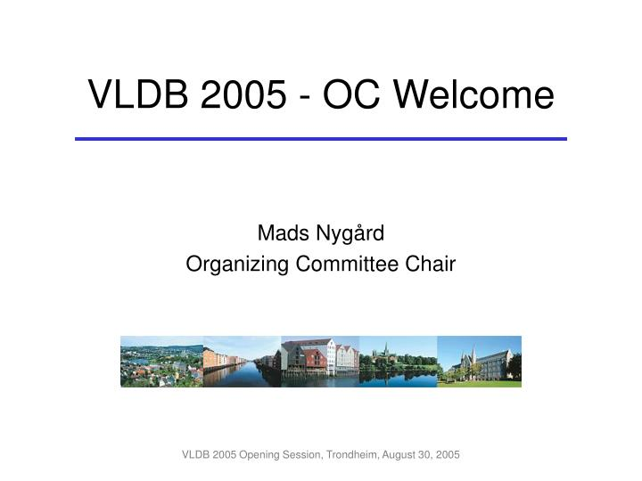 Mads nyg rd organizing committee chair