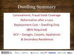 dwelling summary30