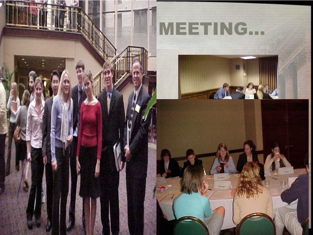 MEETING…